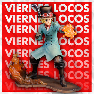 CRAZY FRIDAYS Sabo Figure One Piece Stampede Posing Series