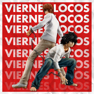 VIERNES LOCOS Figura Yagami Light & L Death Note G.E.M.