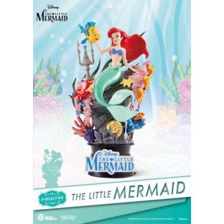 Figura Ariel La Sirenita Disney Diorama  D-Stage