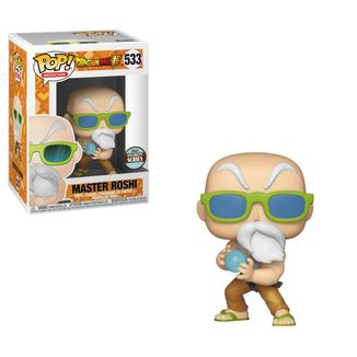 Funko Mutten Roshi Max Power Dragon Ball Speciality Series PoP!