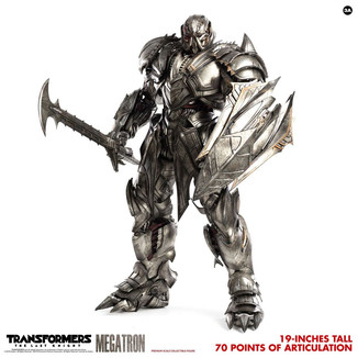 Megatron Deluxe Version Figure Transformers The Last Knight