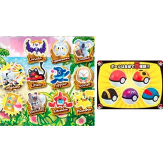 Figura Pokemon - Get Collection Candy Sun & Moon