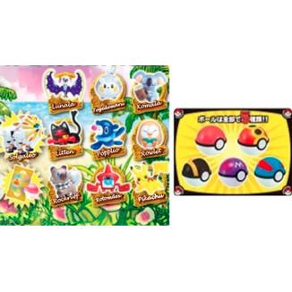 Figura Pokemon - Get Collection Candy Sun & Moon