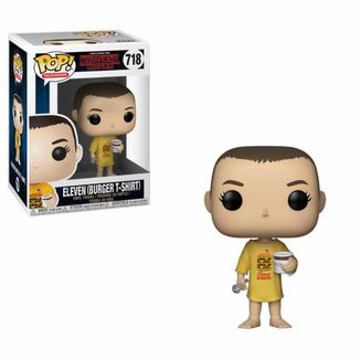 Funko Eleven in Burger Tee Stranger Things PoP!
