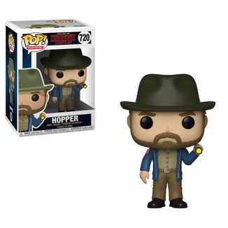 Funko Hopper & Flashlight Tee Stranger Things PoP!
