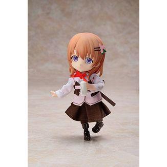 Figura Cocoa Is the Order a Rabbit Chibikko Doll