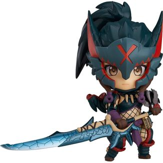 Nendoroid 1284 Hunter Female Nargacuga Alpha Armor Monster Hunter World Iceborne