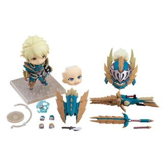Nendoroid 1421 DX Hunter Male Zinogre Alpha Armor DX Monster Hunter World Iceborne