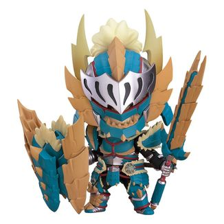 Nendoroid 1421 Hunter Male Zinogre Alpha Armor Monster Hunter World Iceborne