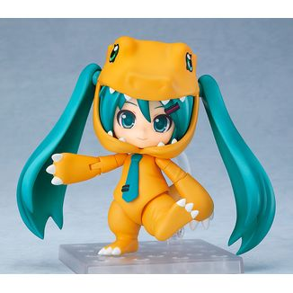 Hatsune Miku Kigurumi Agumon Nendoroid 1439 Vocaloid x Digimon Adventure