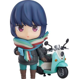Rin Shima Touring Nendoroid 1451 Laid Back Camp