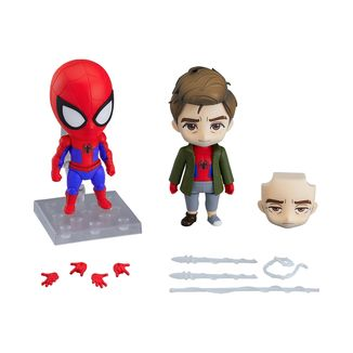Nendoroid 1498 DX Spider Man Peter Parker Spider Verse Edition DX Marvel Comics