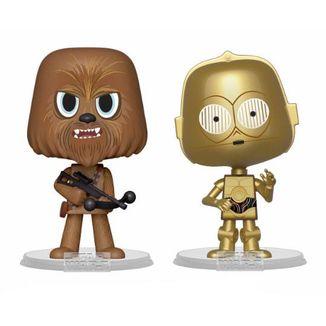 Funko Chewbacca & C-3PO Star Wars VYNL