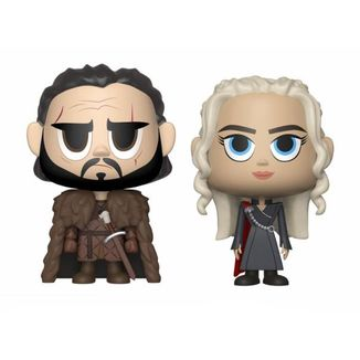 Jon & Daenerys Game of Thrones Funko VYNL