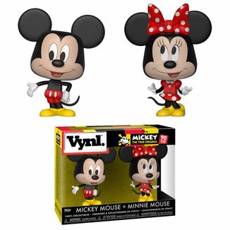 Mickey Mouse & Minnie Mouse Disney Funko VYNL