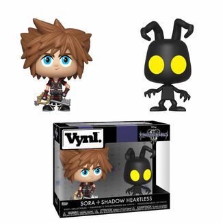 Funko Sora & Heartless Kingdom Hearts 3 VYNL