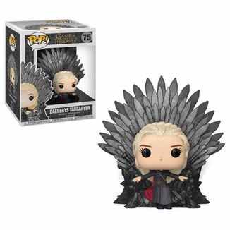 Daenerys on Iron Throne Funko Game Of Thrones POP!