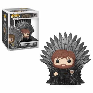 Funko Tyrion Lannister Sitting on Iron Throne Juego De Tronos POP!