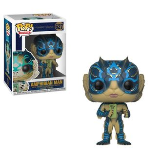 Amphibian Man with Card The Shape of Water Funko PoP!