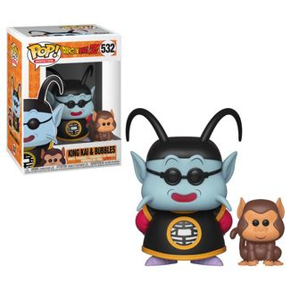 King Kai & Bubbles Dragon Ball Z Funko PoP!