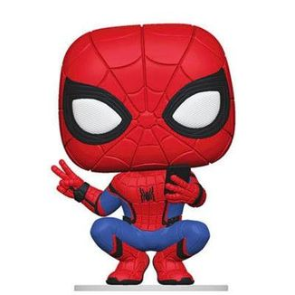 Funko Spider-Man Hero Suit Spider-Man Far From Home PoP!