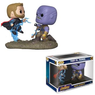 Thor & Thanos Marvel Movie Moments Funko PoP!
