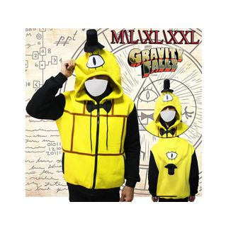 Bill Cipher Hoodie Gravity Falls