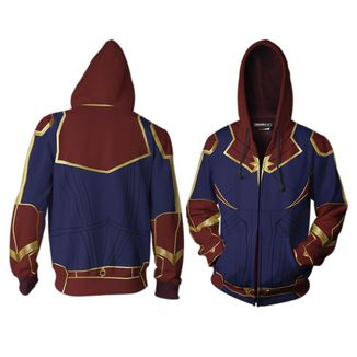 Captain Marvel Hoodie Marvel Comics