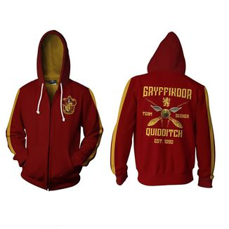 Gryffindor Quidditch Hoodie Harry Potter