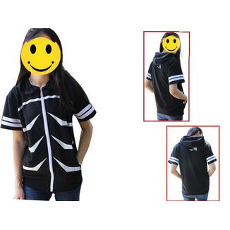 Kaneki Ken #02 Short Sleeve Hoodie Tokyo Ghoul