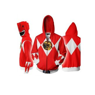 Chaqueta Red Ranger Power Rangers