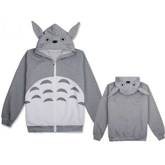 Totoro Hoodie Ghibli