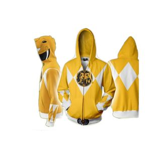 Chaqueta Yellow Ranger Power Rangers
