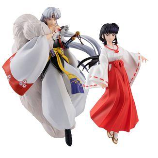 Figura Sesshomaru y Kikyo Set InuYasha Pop Up Parade