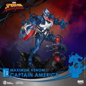 Captain America Marvel Comics Figure Maximum Venom D-Stage