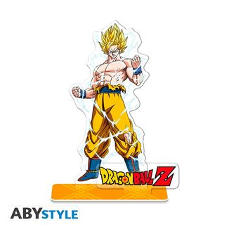 Figura Son Goku SSJ Dragon Ball Z Acrilica
