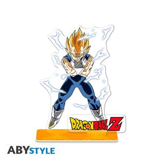 Figura Majin Vegeta  SSJ Dragon Ball Z Acrilica
