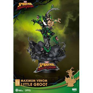 Little Groot Marvel Comics figure Maximum Venom D-Stage