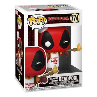 Backyard Griller Deadpool 30th Anniversary Funko Marvel Comics POP! 774