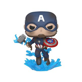 Captain America Broken Shield & Mjolnir Funko Avengers Endgame POP
