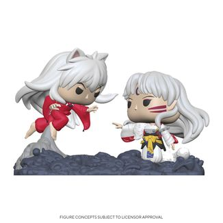 Funko Inuyasha & Sesshomaru POP Moment