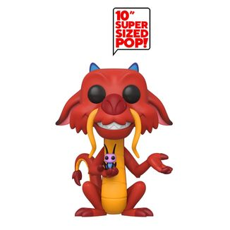 Funko Mushu Mulan Disney Super Sized POP