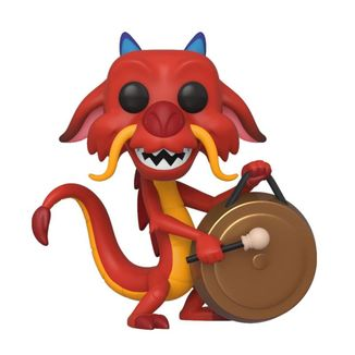 Funko Mushu with Gong Mulan Disney POP