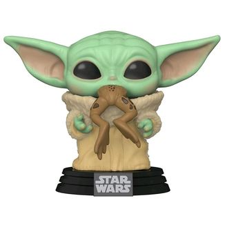 The Child with Frog Funko Star Wars The Mandalorian POP
