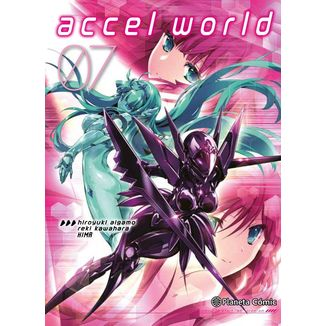 Accel World #07 Manga Oficial Planeta Comic
