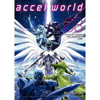 Accel World #08 Manga Oficial Planeta Comic