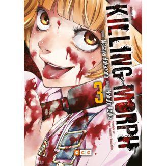 Killing Morph #03 (spanish) Manga Oficial ECC Ediciones