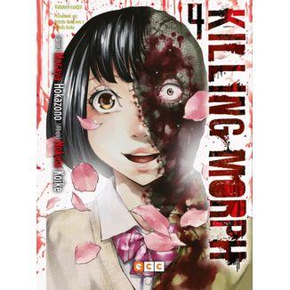 Killing Morph #04 (spanish) Manga Oficial ECC Ediciones