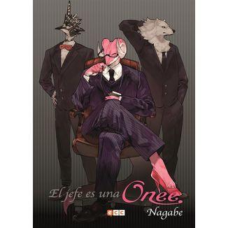 El jefe es una Onee (spanish) Manga Oficial ECC Ediciones