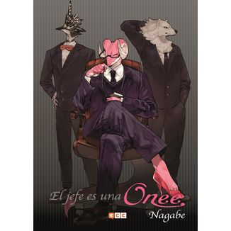 El jefe es una Onee Manga Oficial ECC Ediciones